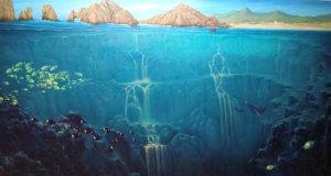 Cascada de arena Los Cabos