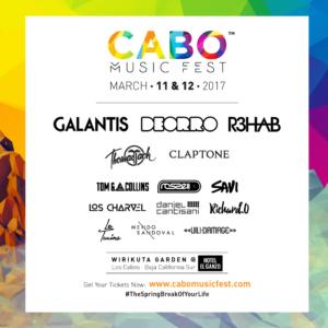 Cabo Music Fest 2017, Galantis, Deorro R3HAB