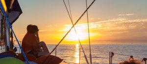 "Paseo en un velero de lujo, ""Velero al atardecer"", Cabo Adventure"