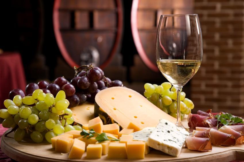 queso y vino
