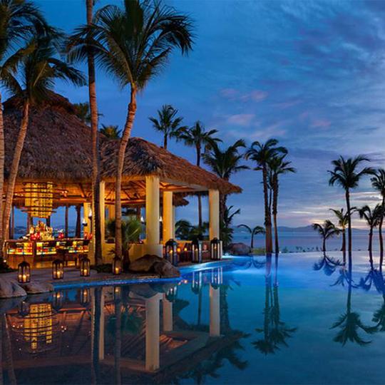 Restaurante Agua del resort One&Only Palmilla en Los Cabos