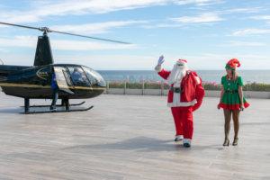 Santa Claus en Grand Velas Los Cabos