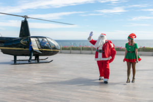 Santa Claus at Grand Velas Los Cabos